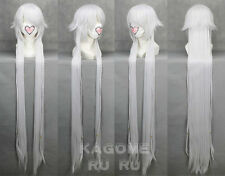 Pandora Hearts Alice Silver White Cosplay Wig + gift