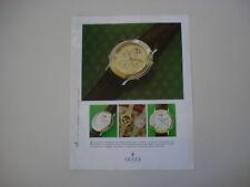 advertising Pubblicità 1988 OROLOGI GUCCI