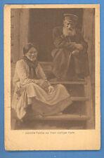 RUSSIA RUSLAND TYPES JEWISH VINTAGE POSTCARD  (829)