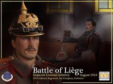 WWI Imperial German Infantryman Battle of Liege August 1914 1/6th Scale Figure