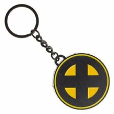 OFFICIAL MARVEL COMICS - X-MEN ROUND SYMBOL METAL KEYRING (NEW)