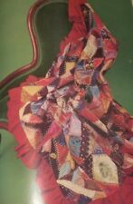 Vintage 1971 MCCALL'S Mod Embroidery Crazy Quilt Butterflies Wildflowers Dogs