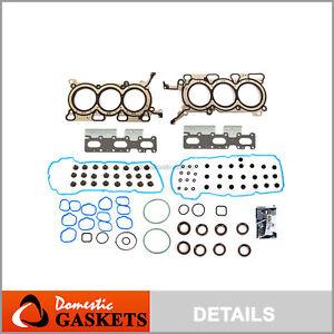 Head Gasket Set Fits 07-10 Ford Edge Lincoln MKZ  Mazda CX-9 V6 DOHC 3.5L