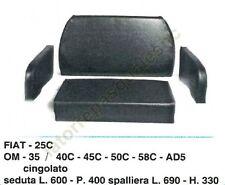 IMBOTTITURA SEDILE PER TRATTORE FIAT 25C-OM 35/40C-45C-50C-58C-AD5