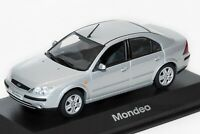 Ford Mondeo Mk3 4dr Silver, dealership model, Minichamps 1:43 scale, car gift