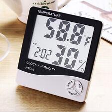 Termometro Igrometro Orologio Datario Digitale Htc-1 Umidita' Temperatura hsb