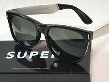 RetroSuperFuture Classic Francis Black Silver Sunglasses SUPER 768 NIB