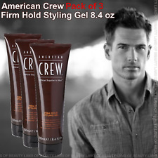 ( Pack of 3 ) American Crew Firm Hold Styling Gel 8.4 oz (SEALED)