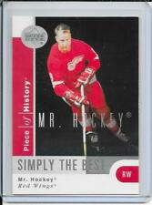 02-03 Piece Of History Mr.Hockey (Gordie Howe) Simply The Best # SB5