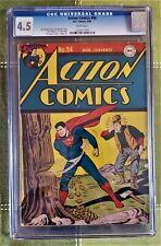 SUPERMAN - ACTION COMICS #94- (CGC 4.5)- DC COMICS - MAR 1946