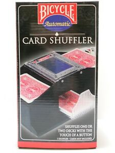 Bicycle (116) Battery Operated Shuffles 1 Or 2 Decks Automatic Card Shuffler