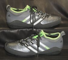 adidas 2F men's gray lace ups oxfords sneakers athletic shoes size US 6 1/2