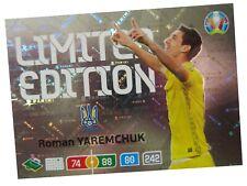 PANINI ADRENALYN XL EURO 2020 LIMITED EDITION ROMAN YAREMCHUK