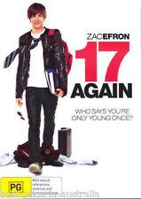 17 Again DVD COMEDY FAMILY Zac Efron BRAND NEW R4