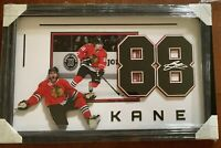 Patrick Kane Chicago Blackhawks 35x22 Framed Hologram
