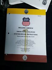 Union Pacific System Special Instructions  May 10, 2019