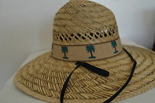 New Unisex Panama Garden Fishing Sun Pool Beach Bamboo Wide Large Brim Straw Hat