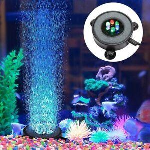 Aquarium LED Lamp Colourful Glow In Dark Waterproof Decoration For Fish Tank