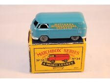 Matchbox A Moko Lesney No 34 Volkswagen Matchbox advertising GMW mint in box
