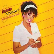 DONNA SUMMER SHE WORKS HARD FOR THE MONEY / ALBUM VINYLE 33 TOURS LP COMME NEUF