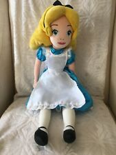 Disney Store Alice In Wonderland Plush Doll