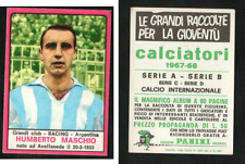 Humberto Maschio (Racing - Argentina) Panini Soccer CARD 1967-68!! Excellent!