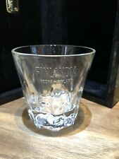 Single Finlandia Vodka Glass 27cl Brand New 100/% Genuine