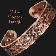 Mens Copper Magnetic Bracelet Celtic Bracelet Arthritis Health Bangle - CP