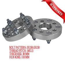 Wheel Spacers FOR Toyota Landcruiser 79 Series 5X150 14x1.5 30mm 5 LUGS 2PCS
