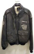 AVIREX TYPE A-2 G-1 Flight Leather Jacket Size M