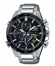Casio Edifice EQB501XDB-1A Time Traveler Bluetooth Watch