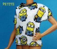 Barbie Fashionistas Despicable Me Minion Tank Shirt CURVY TALL PETITE REGULAR