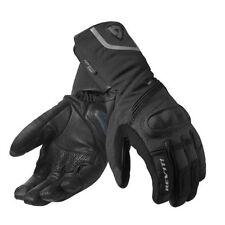 Winter Leather & Textile Breathable Motorcycle Gloves