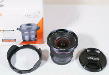 Voking 12mm f/2.8 for Micro Four Thirds - Excellent!