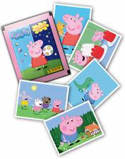 PANINI PEPPA PIG Wutz su giro del mondo Sticker Album vuoto 1x display 50 cartocci
