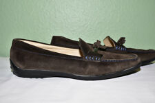 Tod's Suede Driving Loafer Shoe Italy Women's EU 36.5