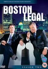 BOSTON LEGAL SEASON 2 - DVD - REGION 2 UK