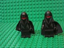 Lot of 2 LEGO Star Wars Minifigures Black Red Head Shadow Guard minifigs 75079