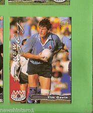 1996 RUGBY UNION  CARD #54 TIM GAVIN, WARATAHS
