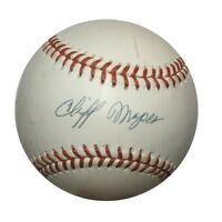 Cliff Mapes Psa/dna Signed American League Baseball Authentic Autograph