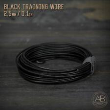 American Bonsai Black Aluminum Training Wire - 2.5mm - 100 grams - 25ft - 100g