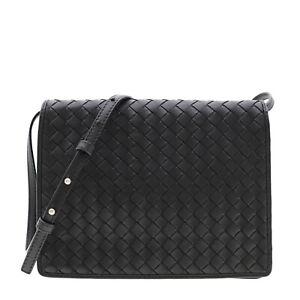 Bottega Veneta Intrecciato Crossbody Bag Nappa Leather New