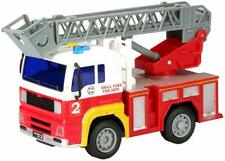 Fire Truck Toy Fire Engine, Rescue Ladder Truck Lights and Sounds Friction Power