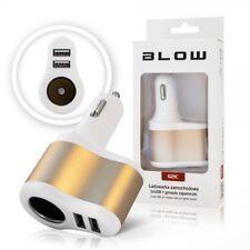 Dual Micro USB Camion Auto Caricatore Telefono Mobile 2A Accendisigari Adapter