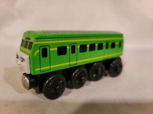 Thomas Wooden Railway Green Daisy Diesel Train 2003 Excellent Condition!    ka