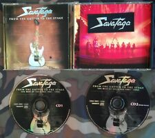 SAVATAGE - FROM THE GUTTER TO THE STAGE 2 CD + PATCH LIMITED EDITION 1996. BEST