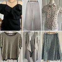 Ladies Designer Clothing Bundle Size 14 Mint Velvet MaxMara Seasalt Whistles