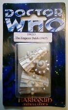 More details for doctor who emperor dalek harlequin miniatures pewter figure - dw213