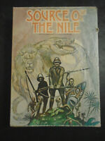 VINTAGE 1979 THE SOURCE OF THE NILE EXPLORATION GAME AVALON HILL'S BOOKSHELF