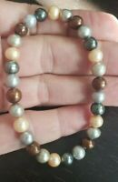 ~Honora Cultured Fresh Water~ Pearl Stretch Bracelet ~6mm - 6.5mm~Multi Color!!